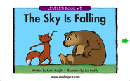 The Sky is Falling - LAZ Reader [Level D-first grade]