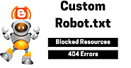 Custom Robots File Blogger Par Kaise Add kare? - iShailesh