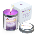 Lavender Scented 100% Soy Wax Pledge Candle by Aurorae: Harmony ~ All Natural Meditation Candle ~ Yoga Candle ~ Aroma...