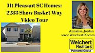 Mt Pleasant SC Homes| 2283 Show Basket Way Video Tour