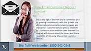 Contact shaw email customer support phone number 1-800-542-0248