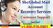 Dial sbcglobal Email Customer Service Number +1-800-518-0963