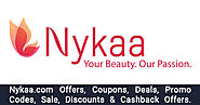 Nykaa Offers → Upto 50% OFF Nykaa's Beauty Care Offers - OffersGenie