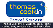 Thomas Cook Offers → Upto Rs.650 OFF Thomas Cook's Holiday Offers - OffersGenie