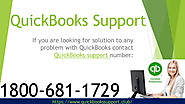 Contact 24x7 QuickBooks support number 1800-681-1729