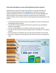 Dial QuickBooks support phone Number 1-800-681-1729