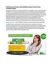 Use QuickBooks Support Phone number 1-800-477-8031