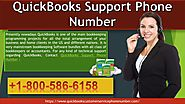 Contact QuickBooks support phone number +1-800-586-6158