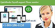 Contact us at QuickBooks payroll support Number +1-800-586-6158