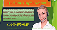 Use QuickBooks Payroll support Number +1-800-586-6158