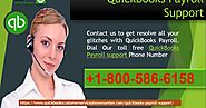 Call us at QuickBooks Payroll support Number +1-800-586-6158