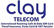 Website at https://www.claytelecom.com/international-roaming-sim-global/