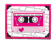Mixtape Valentine's Day Card