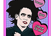 The Cure, Robert Smith Valentine's Day Card