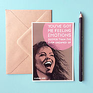 Mariah Carey Valentine's Day Card