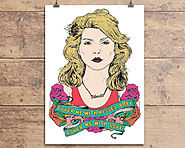 Blondie, Debbie Harry Valentine's Day Card