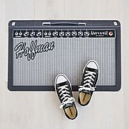 Personalized Amp Doormat | personalized door mats | UncommonGoods