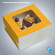 Customized Cake Packaging Services in USA
