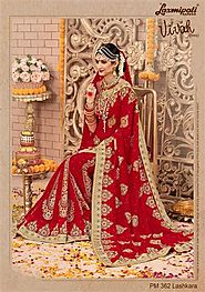 Buy Indian Wedding Sarees Online at Best Price | Laxmipati Sarees