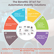 The future of the automotive industry is greatly driven by IoT