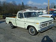 Classic Vehicle : 1973 Ford F100 Ranger for Sale : The Motor Masters