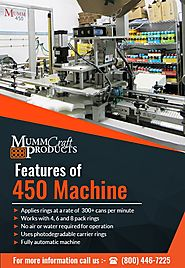 Mumm Craft 450 Machine for Drinks Packaging