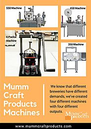 Beer & Beverages Canning Machine - MummCraft