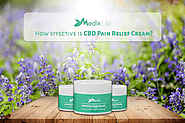 For Pain relieving, how CBD cream is effective?