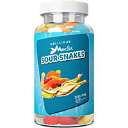 Experience Relaxation with Delicious CBD Gummies Sour Snakes