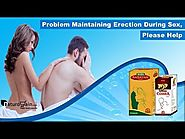 Problem Maintaining Erection during Sex, Please Help