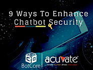 9 Ways To Enhance Chatbot Security - BotCore