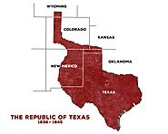 Republic of Texas Map
