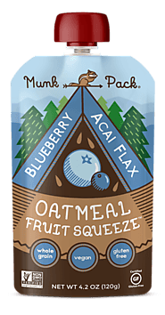 Munk Oatmeal Fruit Squeezes