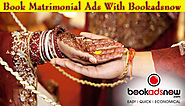 Matrimonial Ads Booking in Ananda Bazar Patrika at Lowest Ad Rates