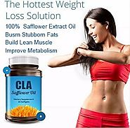 CLA Safflower Oil Could Help to Lose Fats & Gain attractive Muscles