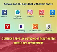 5 Eminent Apps: An Outcome of React Native Mobile App Development – News on Web Design and Deveopment