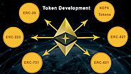ERC Standards Cryptocurrency Token Development Services