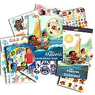 Disney Moana Stickers and Tattoos Party Favors Pack -- 50 Moana Temporary Tattoos and Over 250 Stickers (Moana Party ...