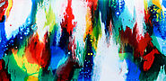 Abstract painting - customer order