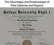 The Advantages and Disadvantages of Fake Diplomas and Degrees