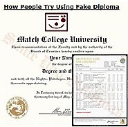 How People Try Using Fake Diploma