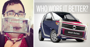 "Smart's ""Who Wore It Better"" Twitter Campaign Turns Selfies Into Custom Cars"