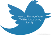 List.ly Unveils Smart Twitter List Management Tool