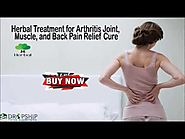 Herbal Treatment for Arthritis Joint, Muscle, and Back Pain Relief Cure