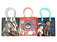 Disney/Pixar Coco Premium Quality Party Favor Reusable Goodie/Gift/Bags 12 Pieces