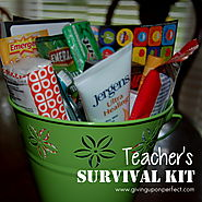Making a Teacher Survival Kit - Mary Carver