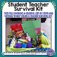 Student Teacher Survival Kit by The Creative Classroom | TpT
