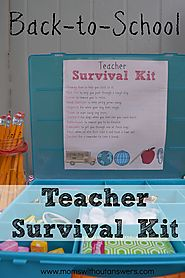 Back to School Teacher Supply Kit - Moms Without Answers