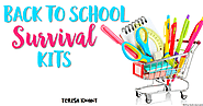 Back to School Survival Kits - Teresa Kwant