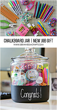 Website at http://seevanessacraft.com/2015/05/craft-new-job-gift-in-a-chalkboard-jar/